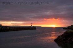 Looe Banjo pier at sunrise