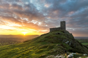 Brentor church at sunrise