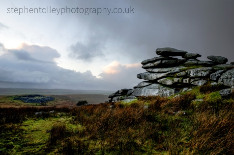 Stormy weather at Stowes Pound