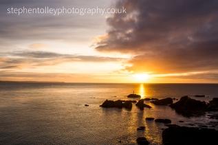 Sunrise at at Hannafore Point