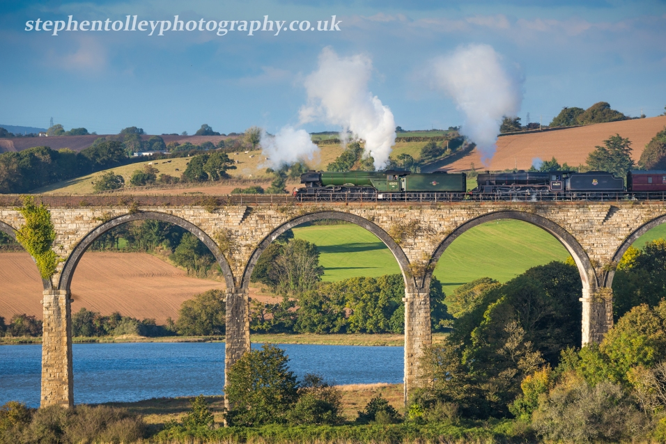The Flying Scotsman at St Germans