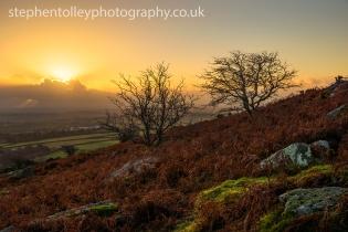 Sunrise at Caradon hill