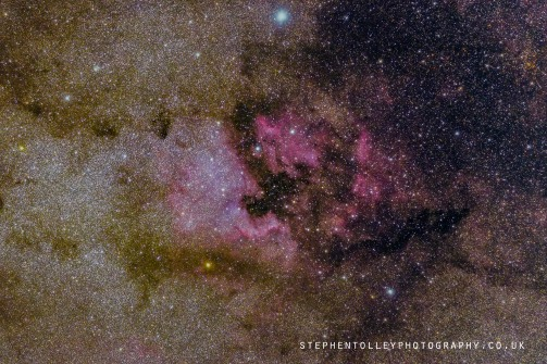 The North America Nebula