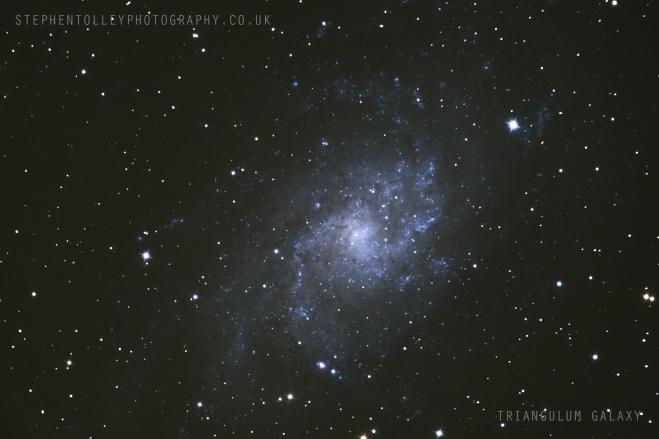 (M33) The Triangulum Galaxy