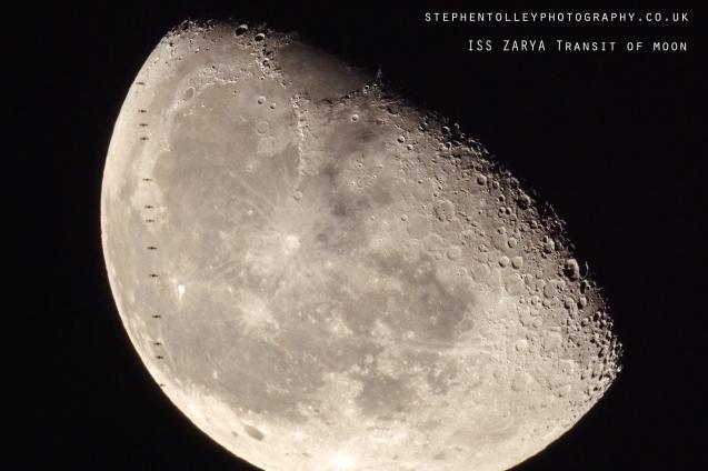 ISS transit of moon