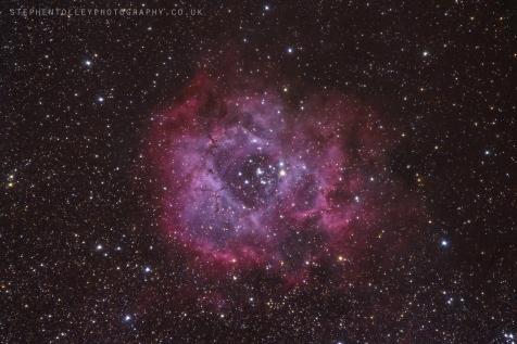 The Rosette Nebula (Caldwell 49)
